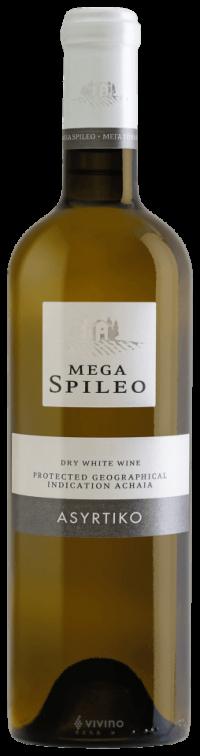 Mega Spileo Asyrtiko Dry White Wine