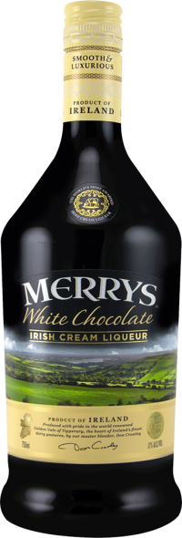 Merrys White Chocolate Liqueur 750ml