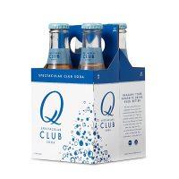 Q Drinks Club Soda 4pk Btl