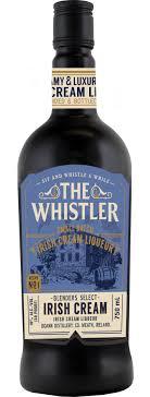 The Whistler Irish Cream 750ml