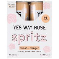 Yes Way Rose Spritz Peach & Ginger 4pk 250ml