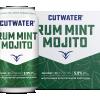 Cutwater Rum Mint Mojito Soda 12oz 4pk Cn