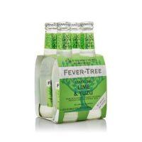 Fever Tree Sparkling Lime & Yuzu 2.8oz 4pk