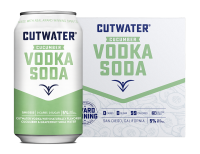 Cutwater Cucumber Vodka Soda 12oz 4pk Cn