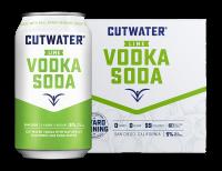 Cutwater Lime Vodka Soda 12oz 4pk Cn