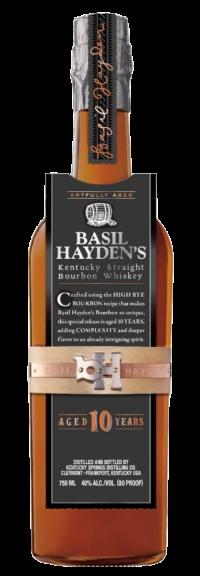 Basil Haydens 10Yr Bourbon 750ml