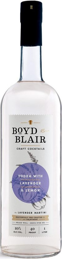 Boyd & Blair Craft Cocktail Lavender & Lemon 1.0L