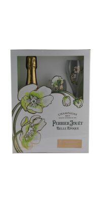 Perrier Jouet Belle Epoque with 2 Glasses