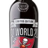 Tampa Bay Bucs 2020 World Champions Banner Etched Cabernet