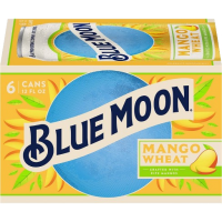 Blue Moon Mango Wheat 12oz 6pk Cn