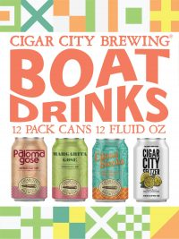 Cigar City Boat Drinks Variety