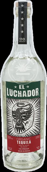 El Luchador Organic Blanco Tequila 110 Proof