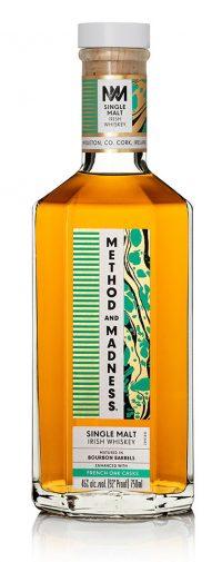Method & Madness Single Malt Irish Whiskey 750ml