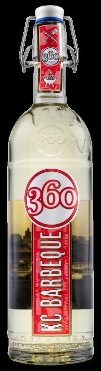 360 KC Barbeque Vodka