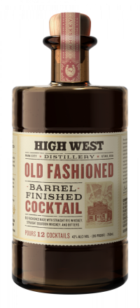 High West Old Fashioned Barrel Finished Cocktail 750ml