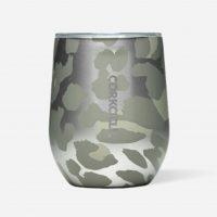 Corkcicle Stemless Snow Leopard 12oz
