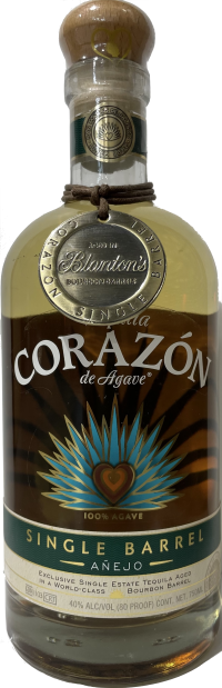 Corazon Blantons Barrel Select Anejo Tequila