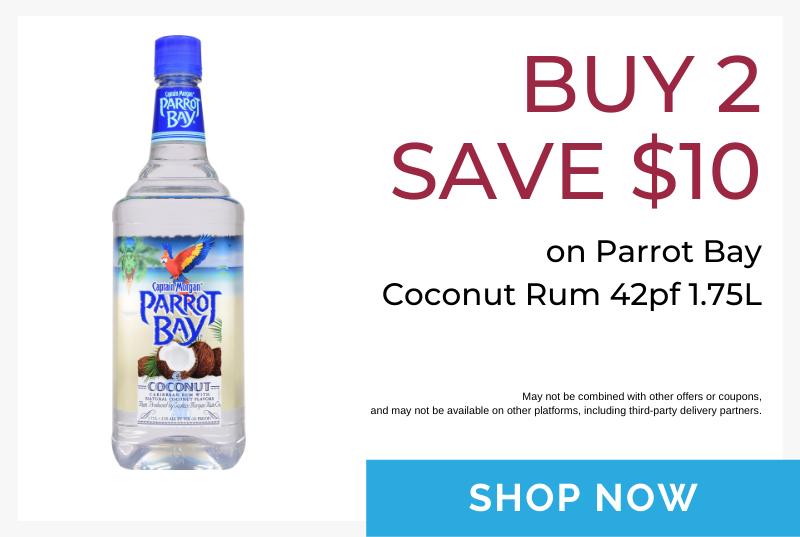Parrot Bay buy 2 promo