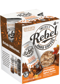 Rebel Hard Coffee Pumpkin Spice Latte 11oz 4pk Cn