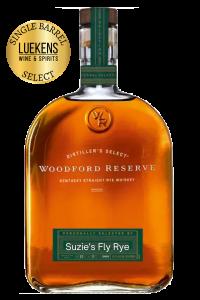 Woodford Reserve Rye Barrel Select 750ml