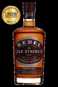 Rebel Yell Cask Strength Luekens Single Barrel Select 750ml