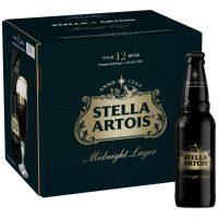 Stella Artois Midnight 12pk